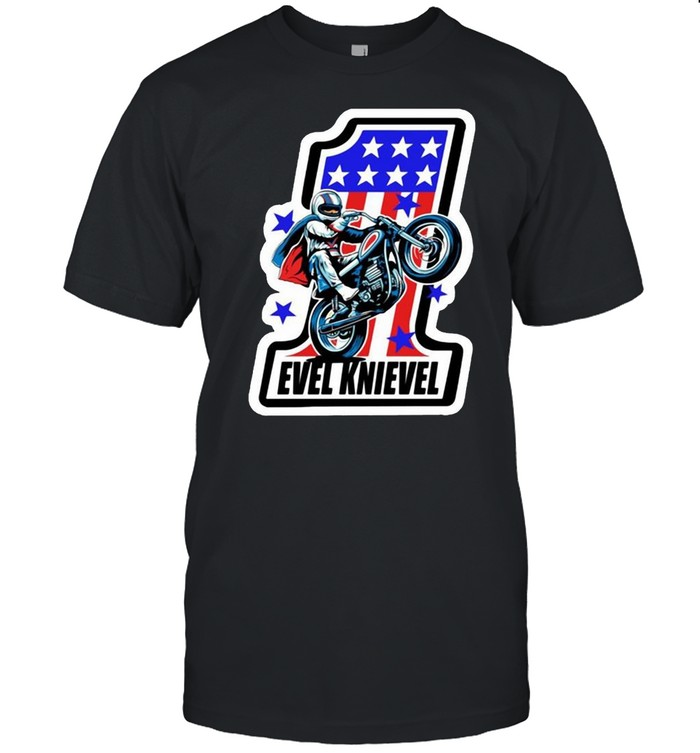 Evel Knievel Number One  Classic Men's T-shirt