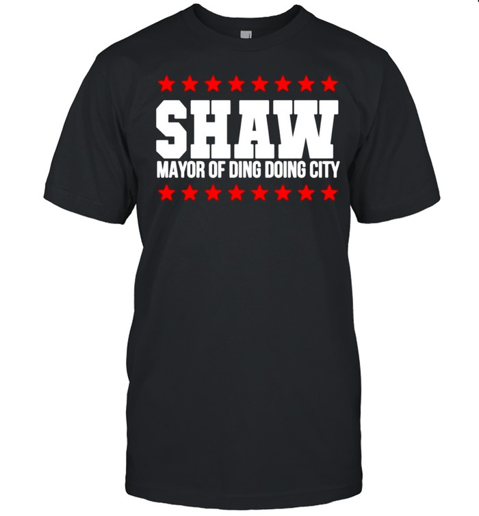 Shaw Mayor Of Ding Dong City  Classic Men's T-shirt