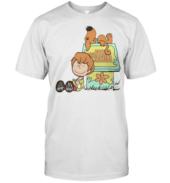 snoopy and Charlie Brown the mystery machine shirt Classic Men's T-shirt