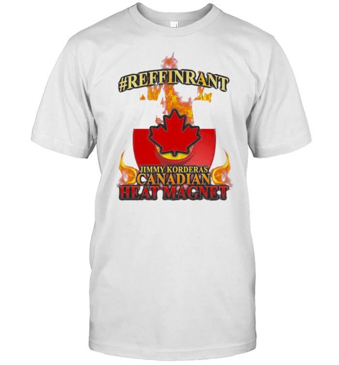 Jimmy Korderas Canadian Heat Magnet 2 t-shirt Classic Men's T-shirt