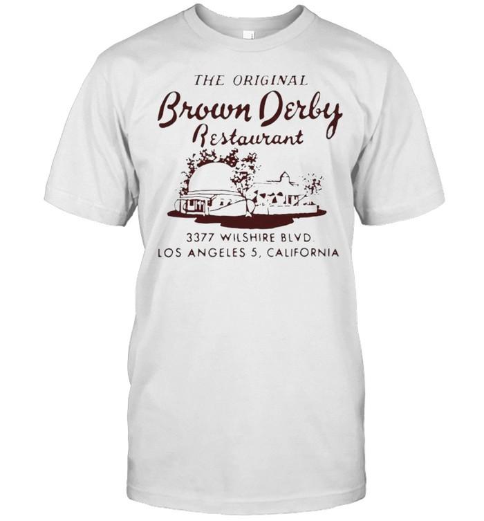 The original Brown Derby restaurant shirt Classic Men's T-shirt