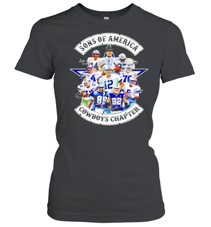 sons of america cowboys chapter shirt classic womens t shirt