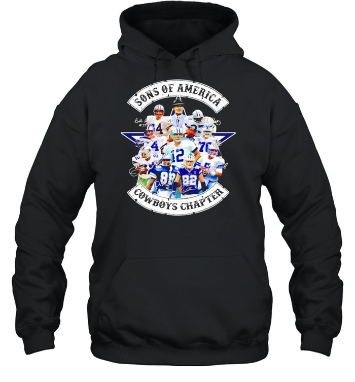 sons of america cowboys chapter shirt unisex hoodie