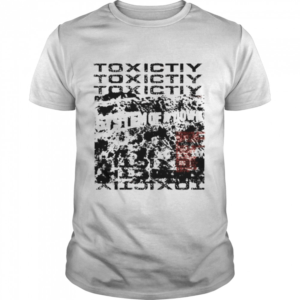 System of a down toxicity repeat shirt