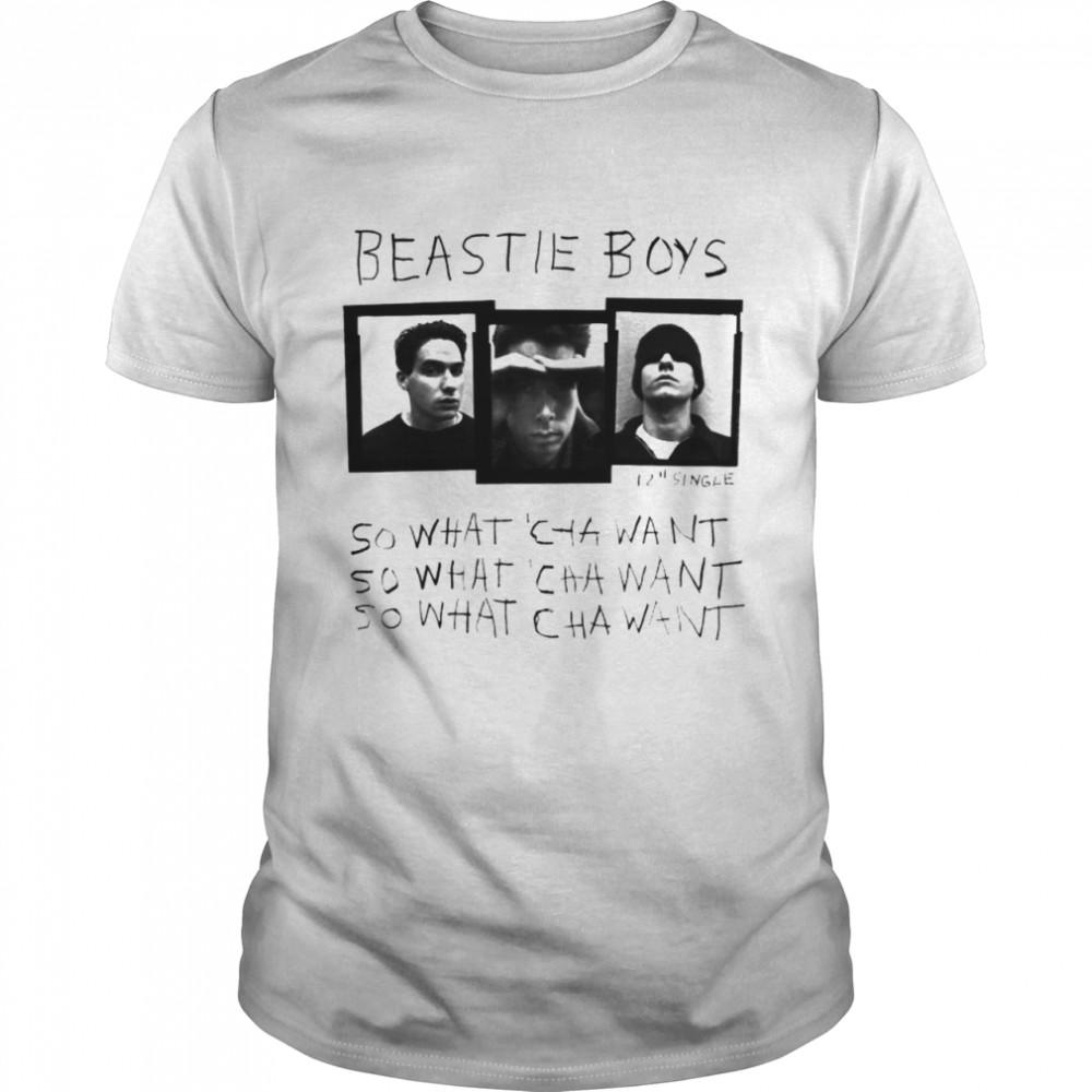 Beastie boys so what 'cha want shirt