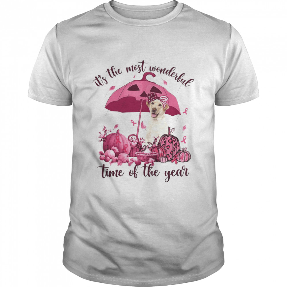 Labrador It's The Most Wonderful Time Of The Year Halloween T-shirt
