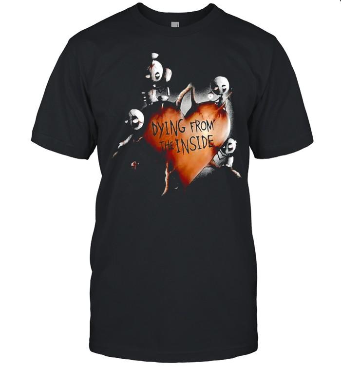A Broken Heart Is A Heart Full Of Fear Ghost Halloween T-shirt