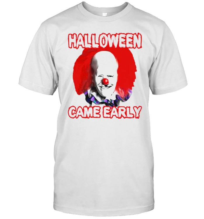 Pennywise Biden halloween came early shirt