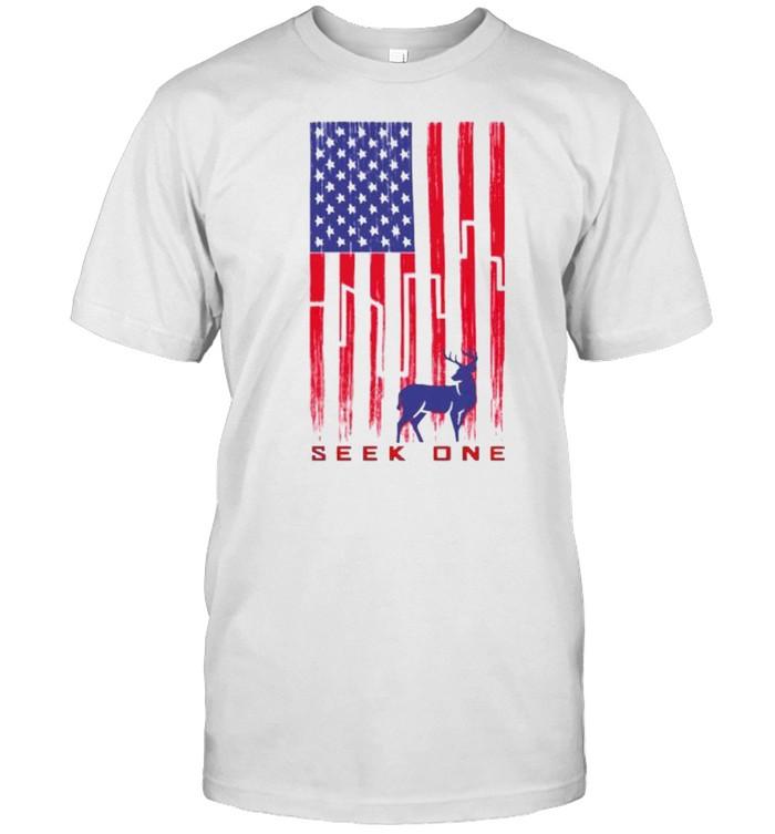 Seek one nation murica shirt