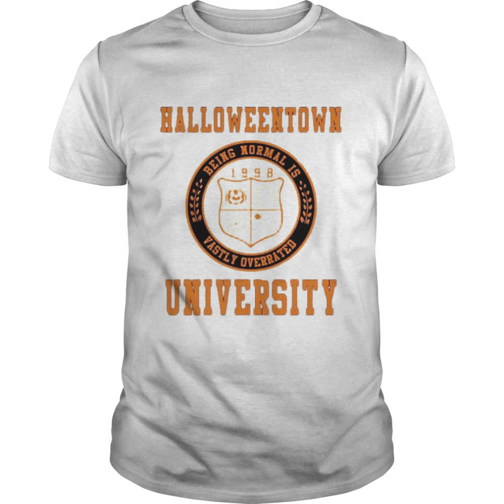 Halloweentown University Being Normal is Vastly Overrated shirt Classic Men's T-shirt