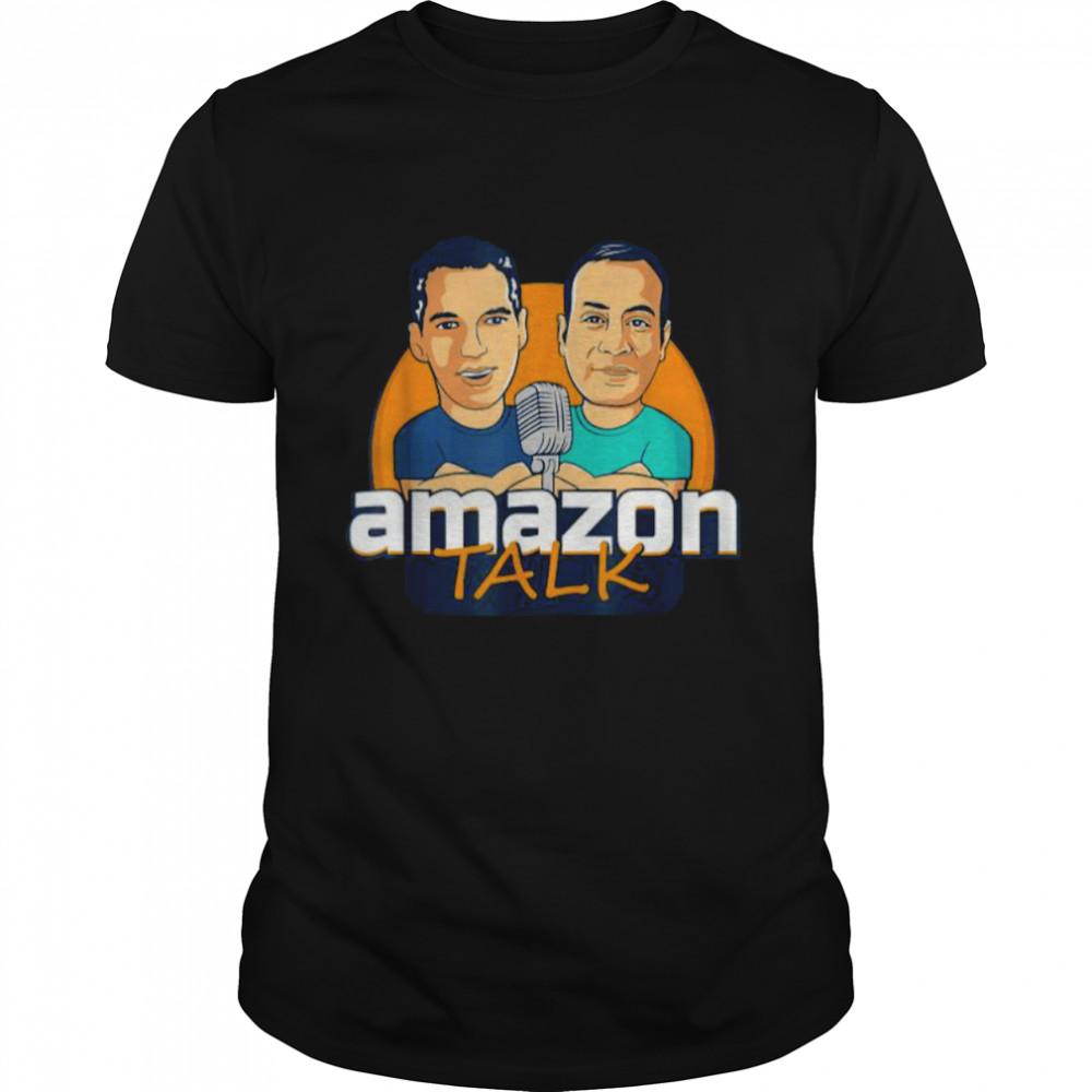 Amazon Talk Podcast Logo T-Shirt