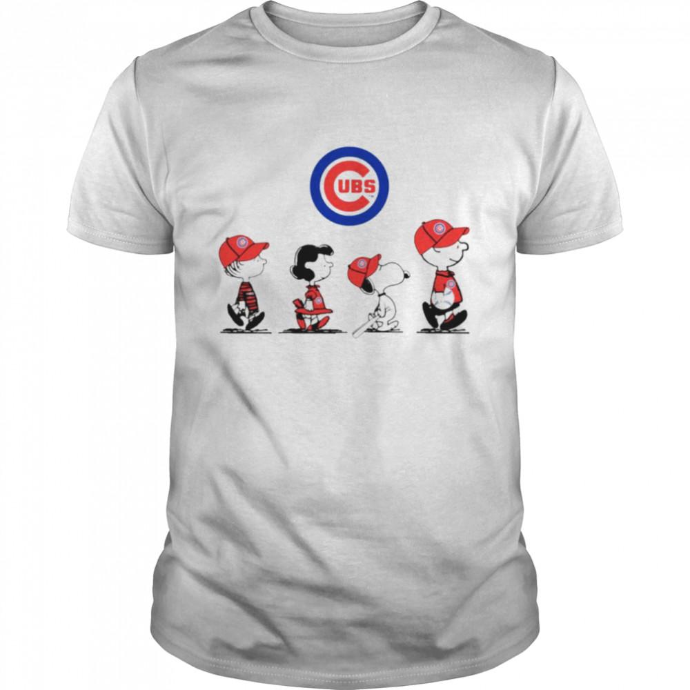Peanuts Characters Denver Broncos Baseball shirt