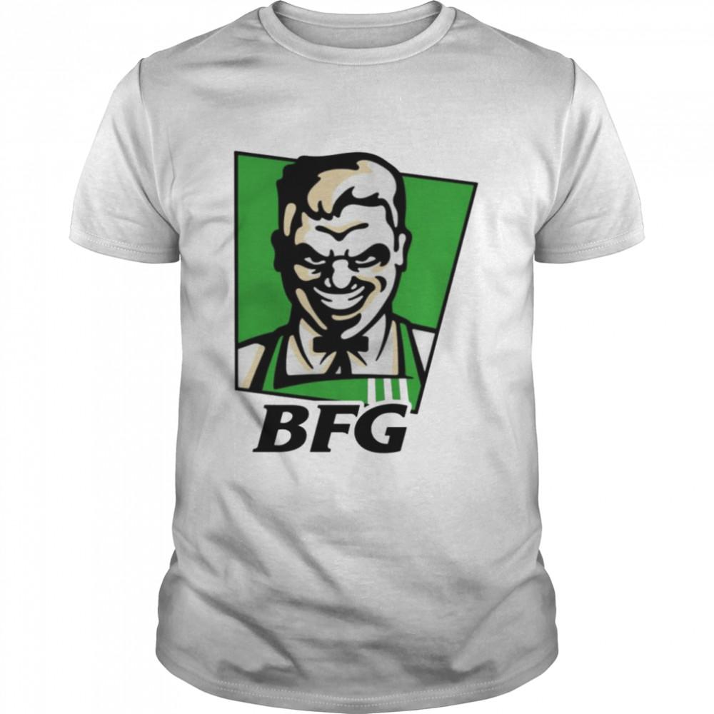 The BFG KFC logo shirt
