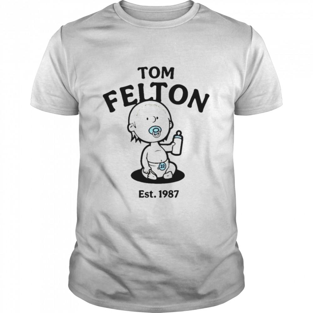 Tom Felton est 1987 shirt