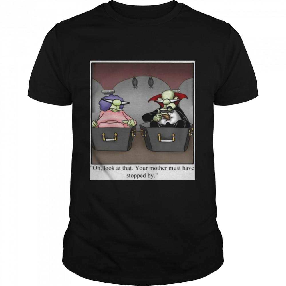 Spectickles Halloween Vampire Dracula Humor T-shirt