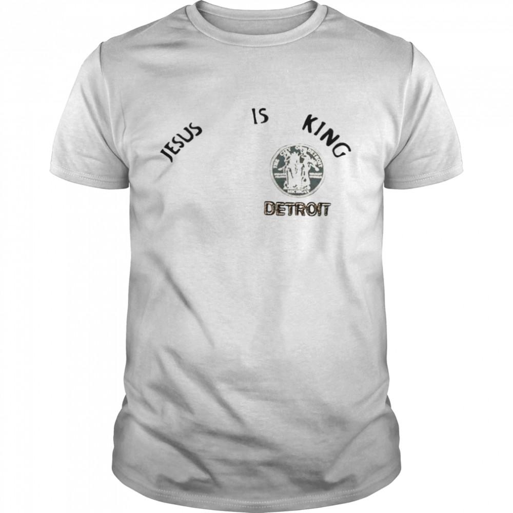 Kanye West Jesus is King Detroit shirt Classic Men's T-shirt