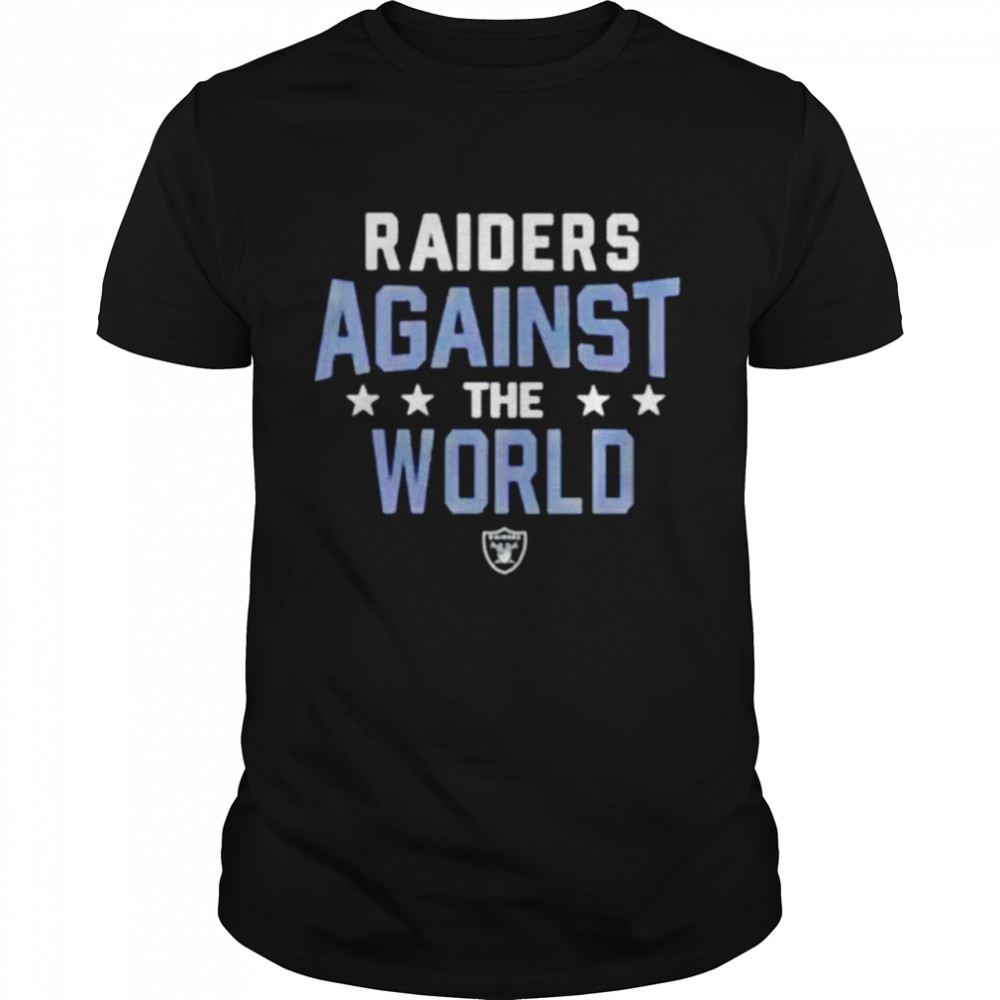 Las Vegas Raiders NFL Against The World shirt Classic Men's T-shirt
