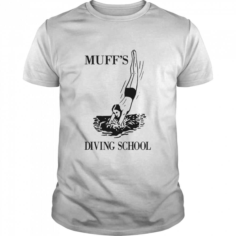Muff's Diving School  Classic Men's T-shirt