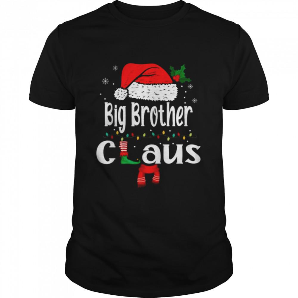 Big Brother Claus  Christmas Pajama Family Matching T  Classic Men's T-shirt