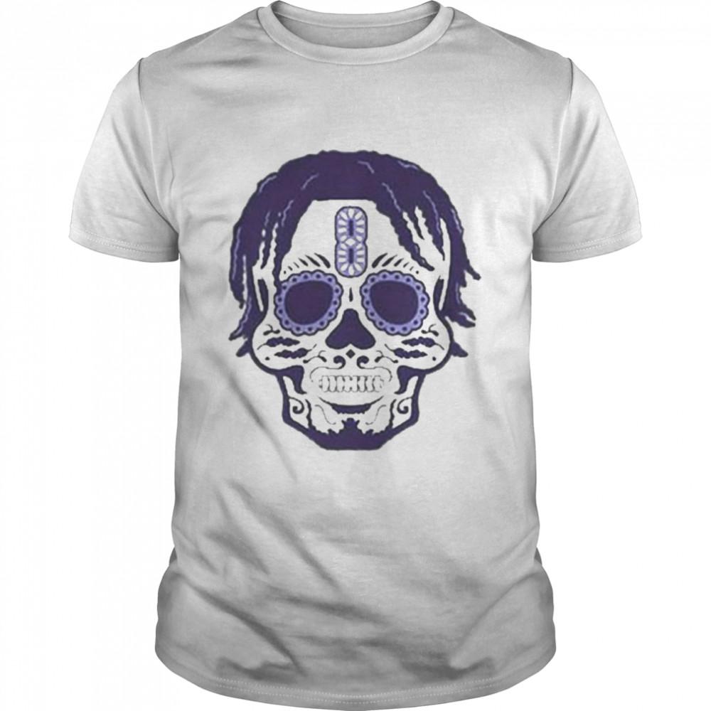 Lamar Jackson Sugar Skull Shirt