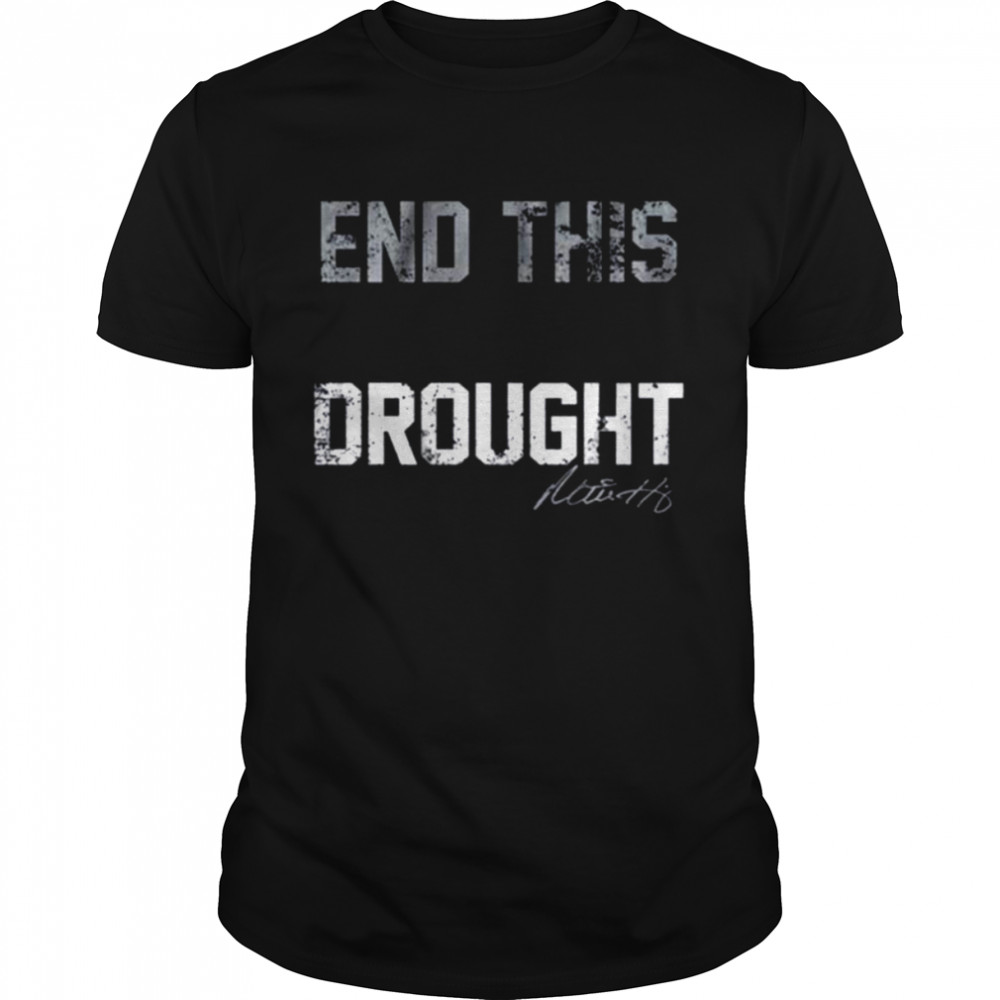 Mitch Haniger End the Drought Tee Shirt