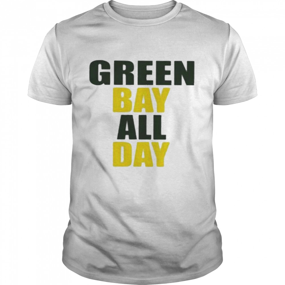 Awesome green Bay All Day Shirt